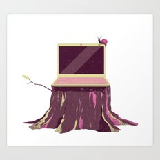 Computer Art Print