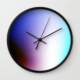 Fluids of color perception Wall Clock