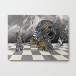 Frankie's game Metal Print