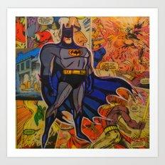 The Bat Man Art Print