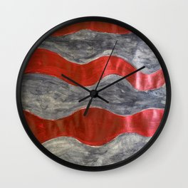 Red rum Wall Clock