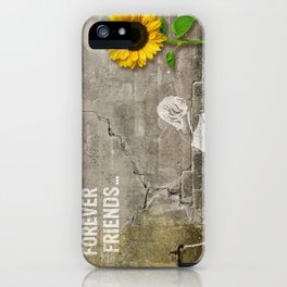 forever friends... iPhone Case
