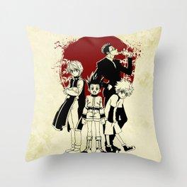 hxh Throw Pillow