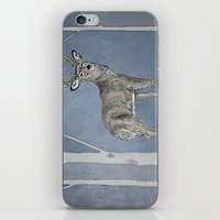 stag iPhone & iPod Skins featuring Stag  by Leanna Rosengren