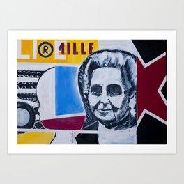 _mille provocazioni Art Print