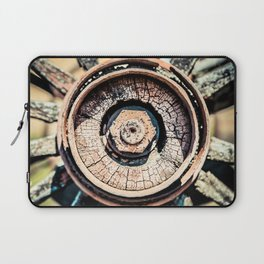 The Rusted Wheel Laptop Sleeve
