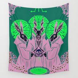Bloodletting ritual Wall Tapestry