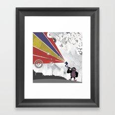 Audio Gorilla Framed Art Print
