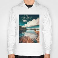 island Hoodies featuring Belle Svezia by HappyMelvin