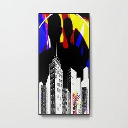 Cabsink16DesignerPatternLIC Metal Print