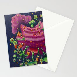 Heavy eyes Stationery Cards
