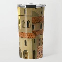 Medieval city Travel Mug