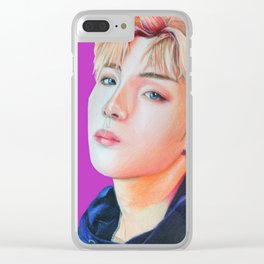 Winwin of NCT Clear iPhone Case