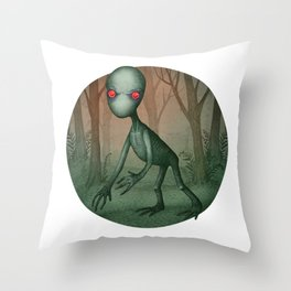 Dover Demon Throw Pillow