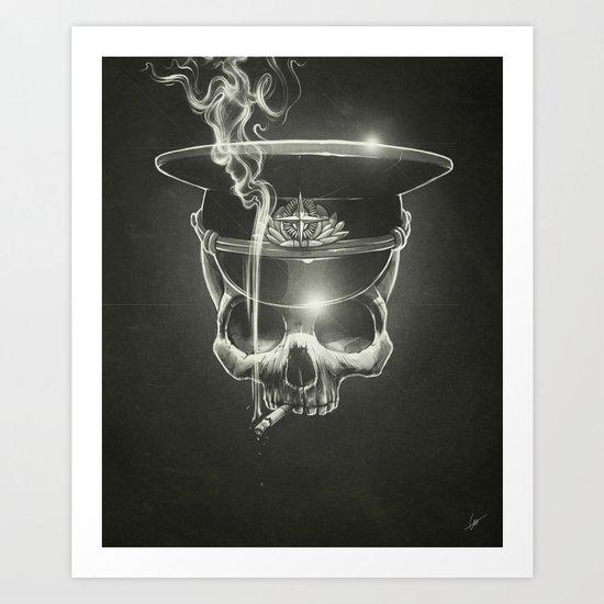 Follow The Leader Art Print