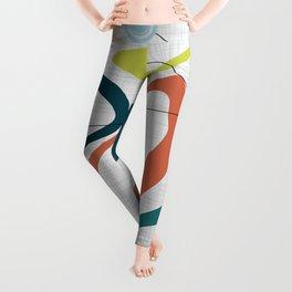 Mid Century Modern Art 02 Leggings