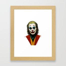 New Joker draw design Framed Art Print