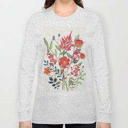 Beautiful Flowers Long Sleeve T-shirt