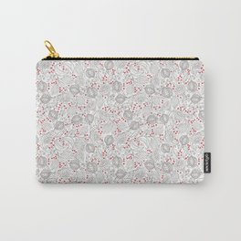 Pomegranite Fruit, Berry And Vines Carry-All Pouch