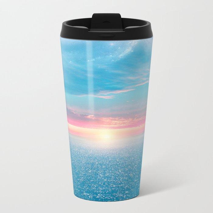 Pastel vibes 32 Metal Travel Mug