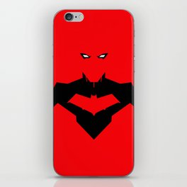 RED RED HOOD iPhone Skin