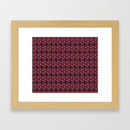 Purple Catacombs Framed Art Print