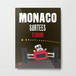 Classic Monaco Formula one Metal Print