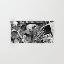 M.C. Escher - Relativity Hand & Bath Towel