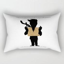First Amendment Ripped Rectangular Pillow