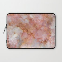 Beautiful & Dreamy Rose Gold Marble Laptop Sleeve