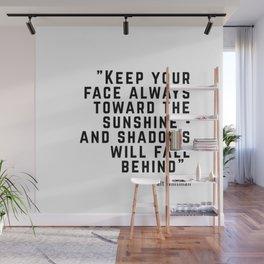 Quote: Walt Whitman Wall Mural