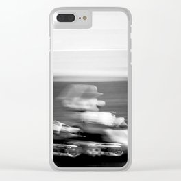 Do you even drift bro? Clear iPhone Case