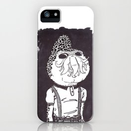 Cthullhu was a Skinhead iPhone Case