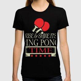 Table Tennis Gift Sport Single Double Tournament T-shirt