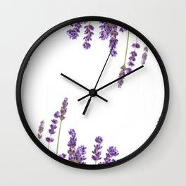 Purple Lavender #2 #decor #art #society6 Wall Clock