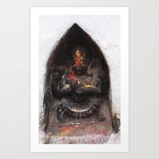 Bodhinath Shrine - 6 of 6 Art Print