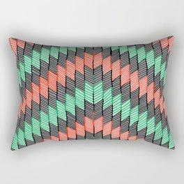ZigZag 2 Rectangular Pillow
