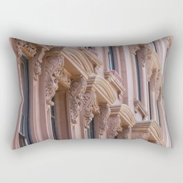 Brooklyn Brownstone Rectangular Pillow