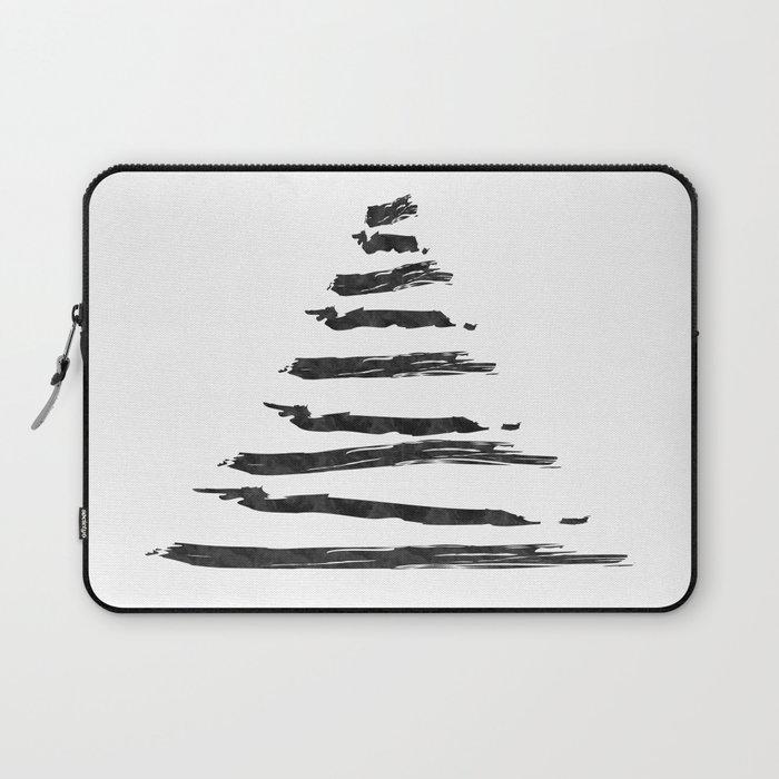 Modern Christmas Tree Laptop Sleeve