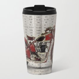 Triumph Speed Twin 1939 Travel Mug