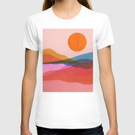 Abstraction_OCEAN_Beach_Minimalism_001 T-shirt