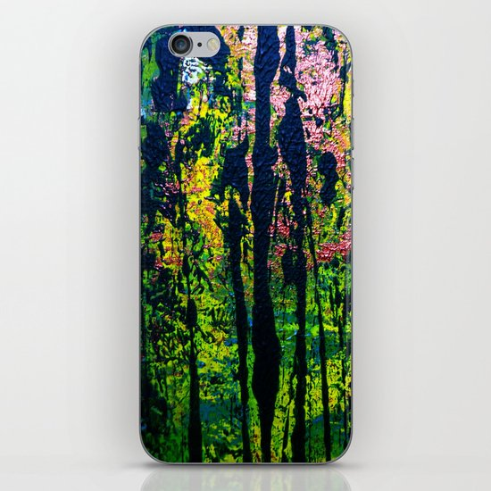 forest light iPhone & iPod Skin
