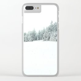 Wild highlands Clear iPhone Case