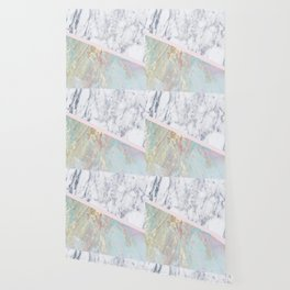 Whimsical marble fantasy Wallpaper