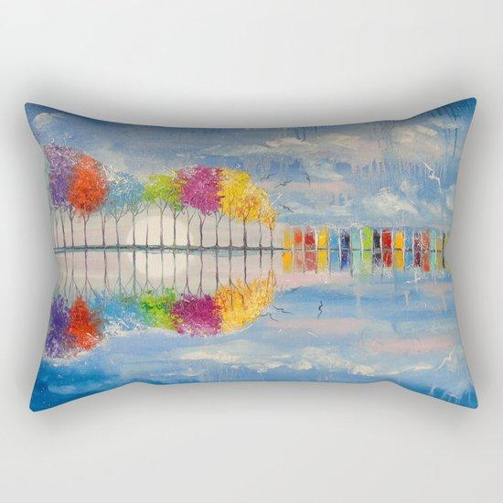 The sound of the guitar Rectangular Pillow