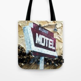 Midway Motel Tote Bag