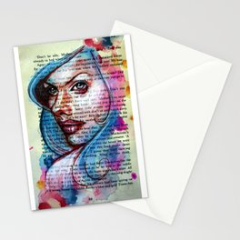 Bette Davis Eyes Stationery Cards