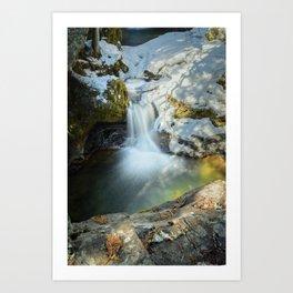 Paradise Falls 2 Art Print