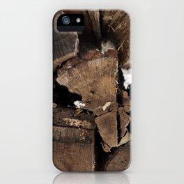 Firewood iPhone Case