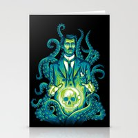 lovecraft Stationery Cards featuring Everybody loves Lovecraft by David Maclennan